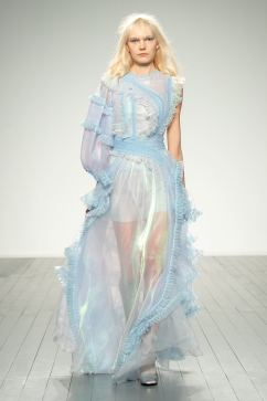 Lead image for Bora Aksu FW19 post London Fashion Week, Fashion Voyeur Blog by pixie Tenenbaum