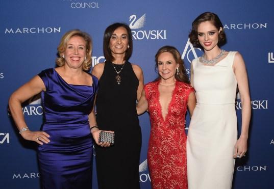 Veronica Bulgari, Mireia Lopez Montoya, Karen Giberson and Coco Rocha