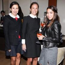 Karla Martinez de Salas, Gretchen Gunlocke Fenton, Claudia Mata