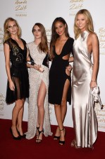 Poppy Delevingne, Cara Delevingne, Joan Smalls Karlie Kloss