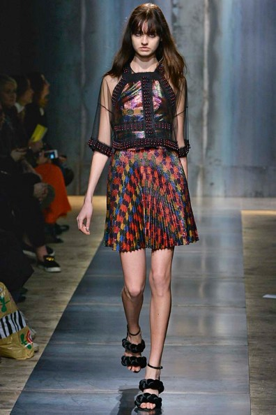 Marco De Vincenzo Milan RTW Fall Winter 2015 February March 2015