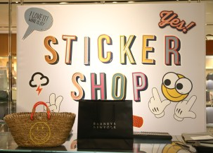 The Barneys' Sticker Shop