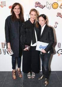 Daniella Vitale, Anya Hindmarch, Tomoko Ogura