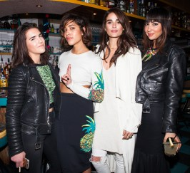 Sarah Hutchison, Christina Caradona, Gabriella Lopez, Jackie Cruz