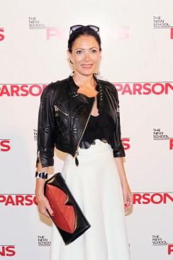 Anna Wintour Presents Marc Jacobs Award at Parsons Bash