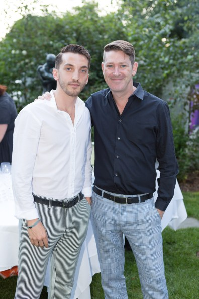 Greg Tinari and Eddie Roche