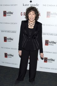 "Lily Tomlin==The Cinema Society and Kate Spade host a screening of Sony Pictures Classics ""Grandma""==Landmark Sunshine Cinema, NYC==August 18, 2015==©Patrick McMullan==Photo - Clint Spaulding/PatrickMcMullan.com===="