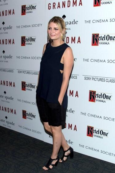 "Mischa Barton== The Cinema Society and Kate Spade host a screening of Sony Pictures Classics ""Grandma""== Landmark Sunshine Cinema, NYC== August 18, 2015== ©Patrick McMullan== Photo - Clint Spaulding/PatrickMcMullan.com== =="