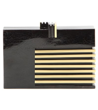 Klein - Black Tab Polish - angle x Brass