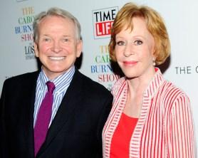 "Bob Mackie, Carol Burnett== Time Life and The Cinema Society host a screening of ""The Carol Burnett Show: The Lost EpisodesÓ== Tribeca Grand Hotel, NYC== September 17, 2015== ©Patrick McMullan== Photo - Paul Bruinooge/PatrickMcMullan.com== =="