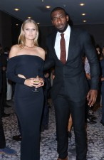 NEW YORK, NY - SEPTEMBER 10: Model Toni Garrn and professional basketball player Amar'e Stoudemire attend The Daily Front Row's Third Annual Fashion Media Awards at the Park Hyatt New York on September 10, 2015 in New York City. (Photo by John Parra/Getty Images for The Daily Front Row)