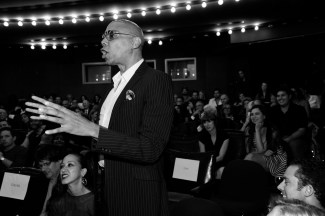 """RuPaul== Time Life and The Cinema Society host a screening of """"The Carol Burnett Show: The Lost EpisodesÓ== Tribeca Grand Hotel, NYC== September 17, 2015== ©Patrick McMullan== Photo - Paul Bruinooge/PatrickMcMullan.com== =="""
