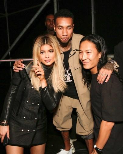 Alexander Wang, Tyga, Kylie Jenner
