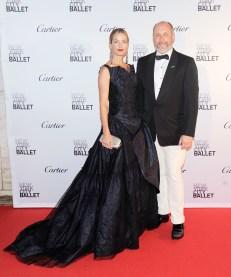 Carolyn Murphy, Peter Copping== New York City Ballet 2015 Fall Fashion Gala== Lincoln Center, NYC== September 30, 2015== ©Patrick McMullan== Photo - Nicholas Hunt / PatrickMcMullan.com== ==