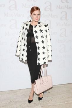 wearing Max Mara, Amy Adams