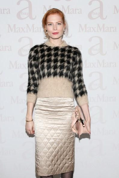 Jessica Joffe, wearing Max Mara