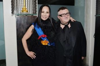 Eva Chow and Alber Elbaz
