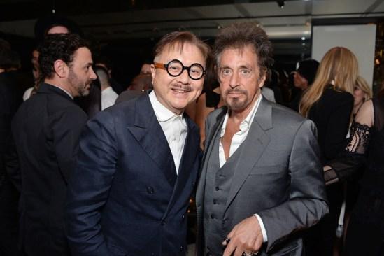 Michael Chow and Al Pacino