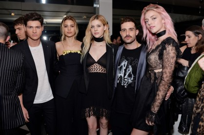William Peltz, Kenya Kinski-Jones; Nicola Peltz, John Targon and Pyper America Smith
