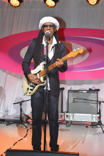 Nile Rodgers==The 2016 Hamptons Paddle & Party for Pink Benefiting the Breast Cancer Research Foundation==Fairview on Mecox Bay, Bridgehampton, NY==August 06, 2016==© Patrick McMullan==Photo - Patrick McMullan/PMC== ==