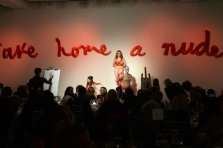 NEW YORK ACADEMY OF ART PRESENTS : TAKE HOME A NUDE