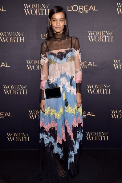 NEW YORK, NY - NOVEMBER 16: Model Liya Kebede attends the L'Oreal Paris Women of Worth Celebration 2016 Arrivals on November 16, 2016 in New York City. (Photo by Michael Loccisano/Getty Images for L'Oreal) *** Local Caption *** Liya Kebede