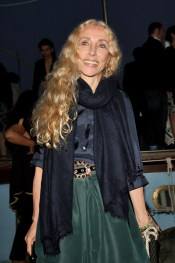 VENICE, ITALY - JUNE 04: Franca Sozzani attends the Bruce Nauman dinner party hosted by Missoni on the boat 'Timoteo' during the 2009 Venice Biennale on June 4, 2009 in Venice, Italy. (Photo by Vittorio Zunino Celotto/Getty Images)