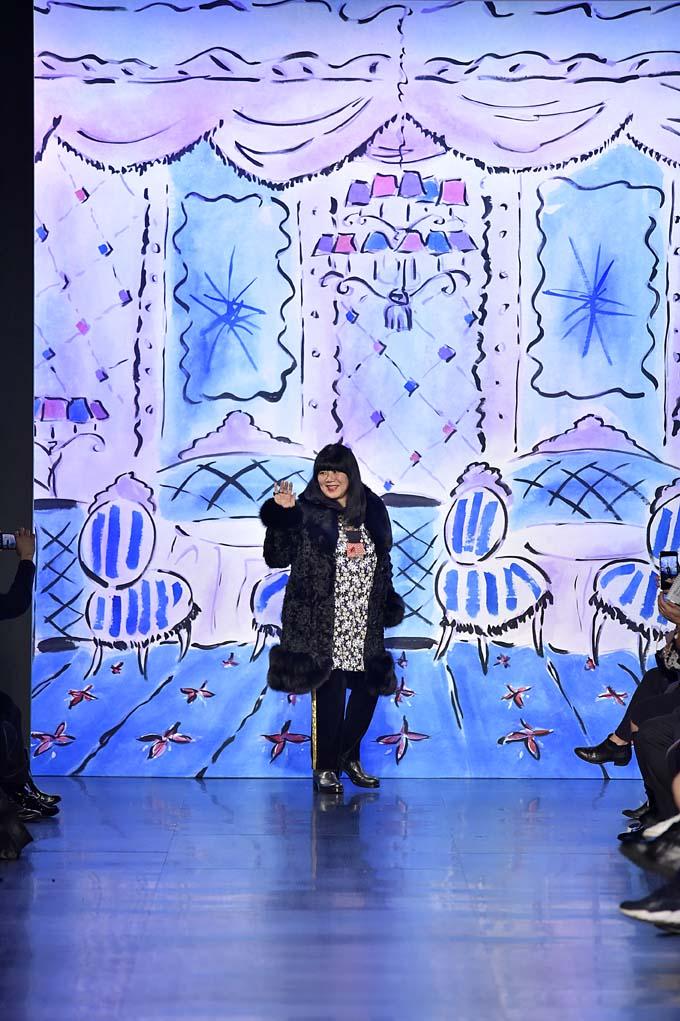 Anna Sui New York Womenswear Fall Winter 2017 New York Feb 2017