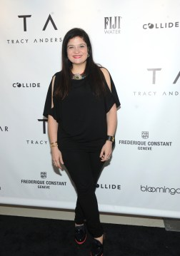 Alex Guarnaschelli celebrates the opening of the Tracy Anderson 59th Street studio, Wednesday, March 15, 2017 in New York. (Photo by Diane Bondareff/Invision for Tracy Anderson/AP Images)