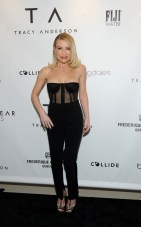 Tracy Anderson celebrates the opening of the Tracy Anderson 59th Street studio, Wednesday, March 15, 2017 in New York. (Photo by Diane Bondareff/Invision for Tracy Anderson/AP Images)