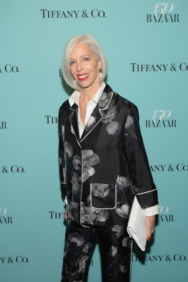 NEW YORK, NY - APRIL 19: Linda Fargo attends Harper's BAZAAR 150th Anniversary Event presented with Tiffany & Co at The Rainbow Room on April 19, 2017 in New York City. (Photo by Andrew Toth/Getty Images for Harper's BAZAAR)
