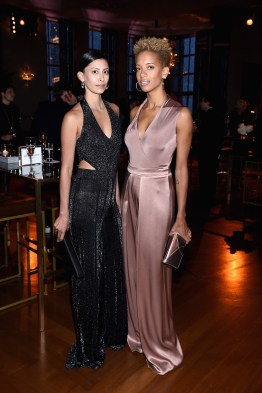 NEW YORK, NY - APRIL 19: Cushnie & Ochs designers Carlie Cushnie and Michelle Ochs attend Harper's BAZAAR 150th Anniversary Event presented with Tiffany & Co at The Rainbow Room on April 19, 2017 in New York City. (Photo by Dimitrios Kambouris/Getty Images for Harper's BAZAAR)