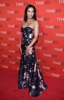NEW YORK, NY - APRIL 25: Padma Lakshmi attends the 2017 Time 100 Gala at Jazz at Lincoln Center on April 25, 2017 in New York City. (Photo by Dimitrios Kambouris/Getty Images for TIME)