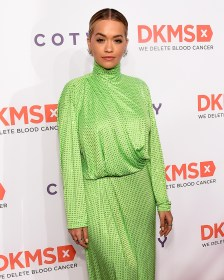 "NEW YORK, NY - APRIL 27: Recording artist Rita Ora attends 11th Annual DKMS ""BIG LOVE"" Gala on April 27, 2017 in New York City. (Photo by Jamie McCarthy/Getty Images for DKMS)"
