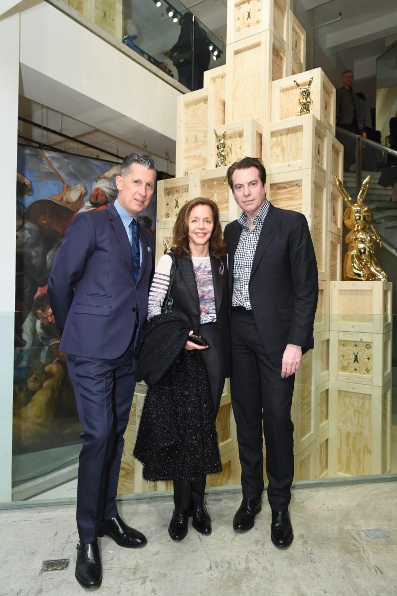 Stefano Tonchi, Rachel Lehmann, David Maupin