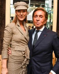 Celine Dion, Valentino Garavani