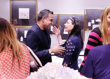 NEW YORK, NY - JUNE 15: Bibhu Mohapatra and Stacy London attends the Monica Vinader x GLAM4GOOD Get Your Glam On Party on June 15, 2017 in New York City. (Photo by Nicholas Hunt/Getty Images)