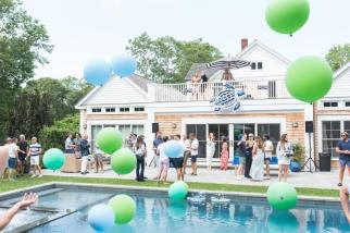 SAG HARBOR, NY - JULY 15: Atmosphere at The Daily Summer's 3rd annual Boys of Summer Party on July 15, 2017 in Sag Harbor, New York. (Photo by Presley Ann/Patrick McMullan via Getty Images)