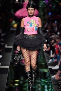 Moschino Milan Fashion Week Spring Summer 2018 Milan September 2017