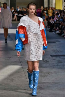 MSGM Milan Fashion Week Spring Summer 2018 Milan September 2017