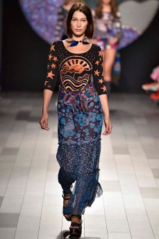 Anna Sui New York Fashion Week Spring Summer 2018 NY September 2017