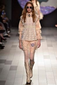 Anna Sui New York Fashion Week Spring Summer 2018 NY September 2017