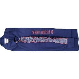 The Fiesta Army Jacket - Blue