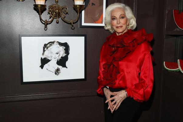 Carmen Dell'Orefice (Getty Images)