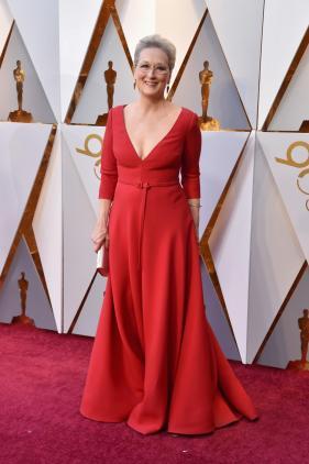 Meryl Streep in Dior (Getty Images)