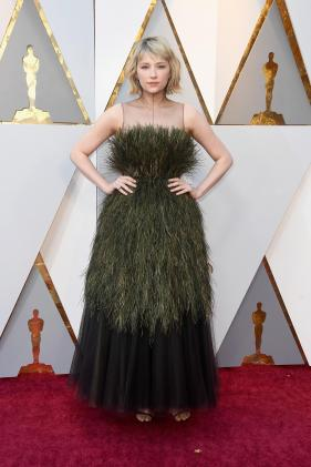 Haley Bennett in Dior (Getty Images)