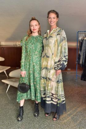 Kate Bosworth and Christy Turlington Burns