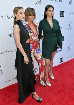 Delilah Belle Hamlin, Lisa Rinna, and Amelia Gray Hamlin (Getty Images)