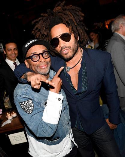 Spike Lee and Lenny Kravitz (BFA)