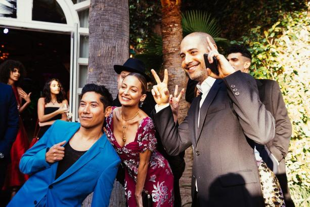 Nicole Richie, Joel Madden and TK (Hannah Turner-Harts)
